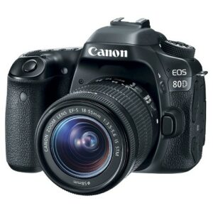 Canon EOS 80D with 18-135mm USM Lens